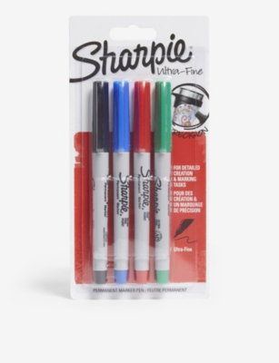 SHARPIE Ultra fine permanent markers set of four