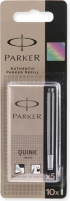 PARKER Quink ink cartridges permanent pack of 5