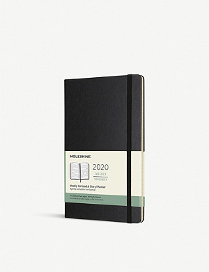 MOLESKINE Large hard cover 12-month weekly planner 21cm x 13cm
