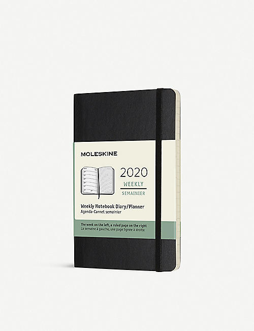 MOLESKINE Pocket soft cover 12-month weekly planner 14cm x 9cm