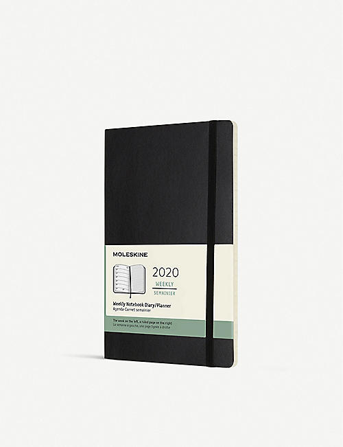 MOLESKINE Large soft cover 12-month weekly planner 21cm x 13cm
