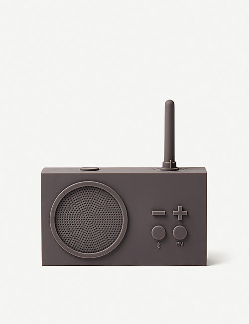 LEXON: Tykho 3 FM silicone radio and speaker