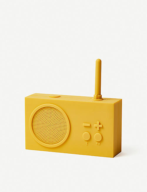 LEXON Tykho 3 FM silicone radio and speaker
