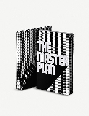 NUUNA The Master Plan leather notebook 17x22cm