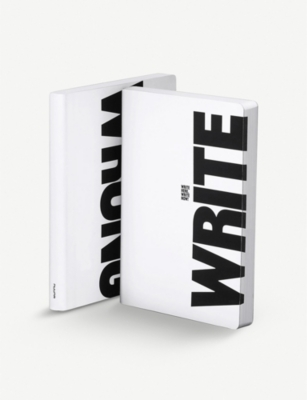 NUUNA Write large leather notebook 17x22cm
