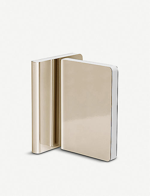 NUUNA Shiny Starlet metallic notebook 11x15cm