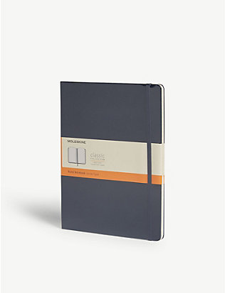 MOLESKINE: Classic ruled notebook 25cm x 19cm