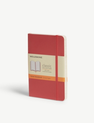 MOLESKINE Ruled soft cover pocket notebook 14cm x 9cm