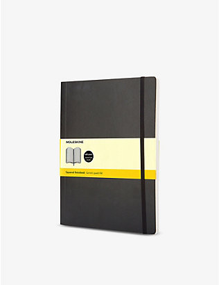 MOLESKINE: Extra large soft cover squared notebook