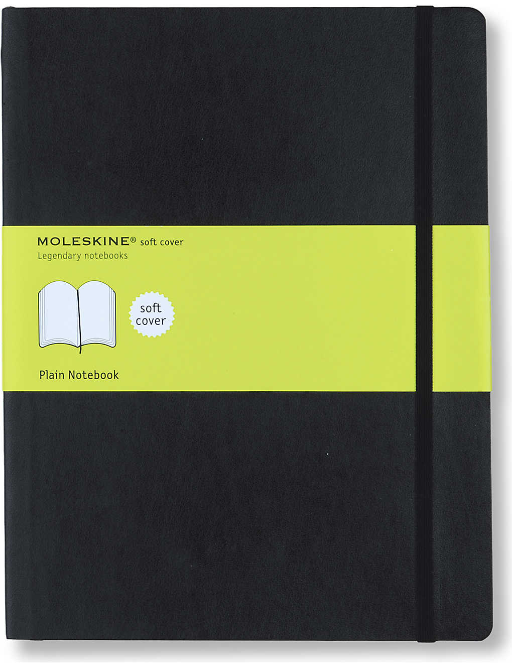 MOLESKINE: Extra large soft cover plain notebook