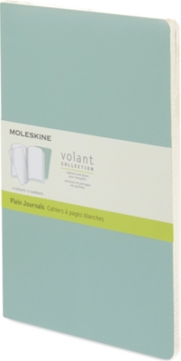 MOLESKINE Volant Collection set of two large plain journals