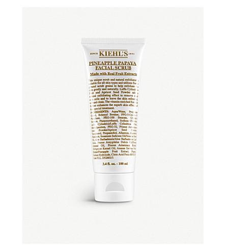 Kiehl's Since 1851 Pineapple Papaya Facial Scrub 100ml
