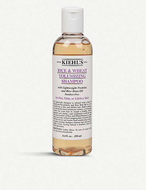 KIEHL'S: Rice and Wheat volumising shampoo 250ml