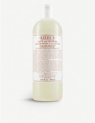 KIEHL'S: Grapefuit bath & shower liquid body cleanser 500ml