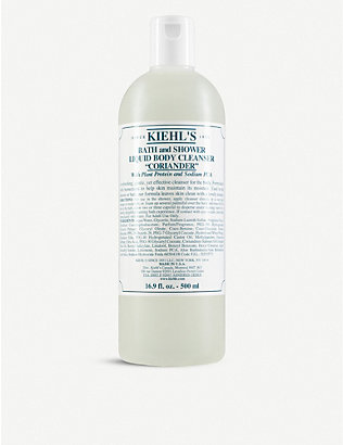 KIEHL'S: Coriander bath & shower liquid body cleanser 500ml