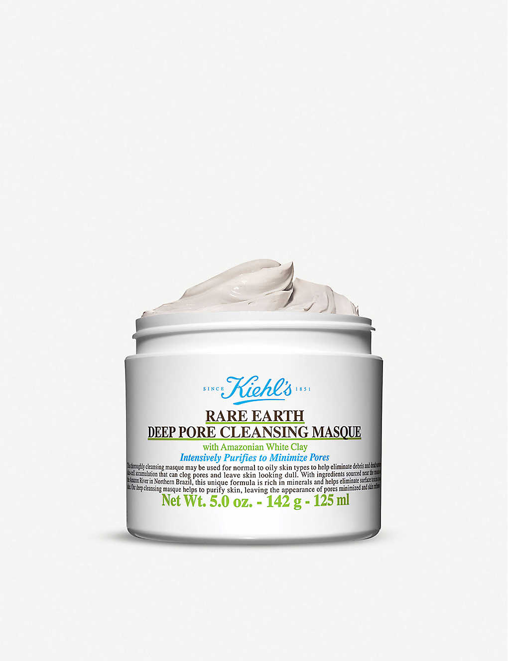 KIEHL'S: Rare Earth Pore Cleansing Masque 125ml