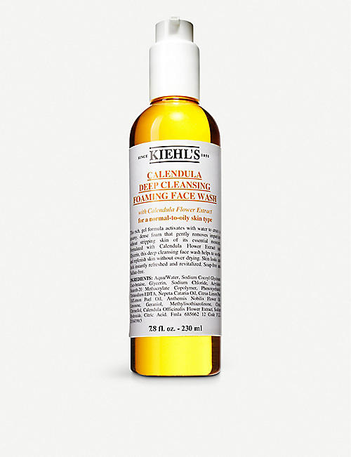 KIEHL'S: Calendula deep cleansing foaming wash 230ml