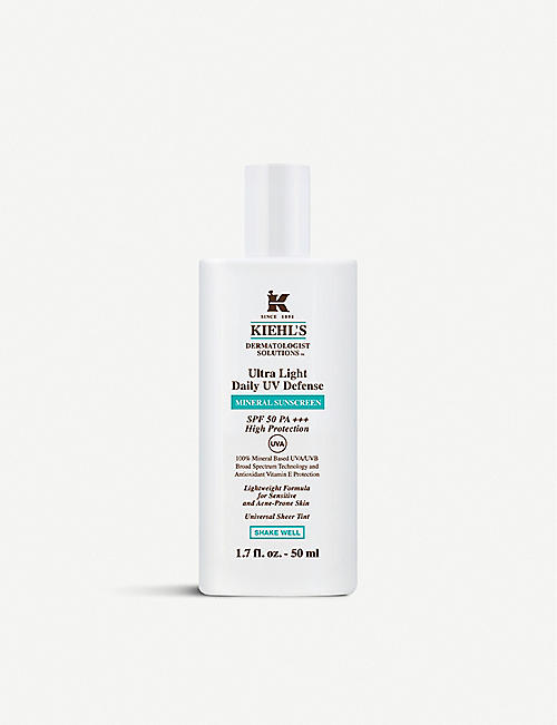 KIEHL'S: Ultra Light Daily UV Defense SPF 50 50ml