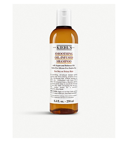 Kiehl's Since 1851 Kiehl's Smooth Oil-infused Shampoo (250ml) In White