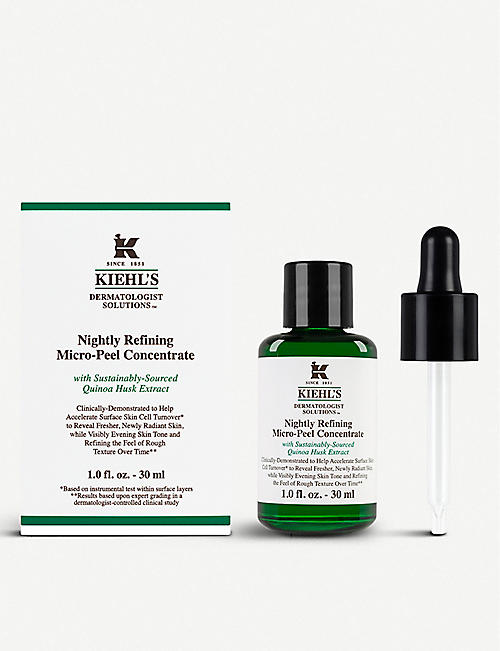 KIEHL'S Dermatologist Solutions Nightly Refining Micro-Peel Concentrate