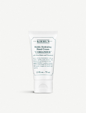 KIEHL'S Coriander Richly Hydrating Hand Cream 75ml