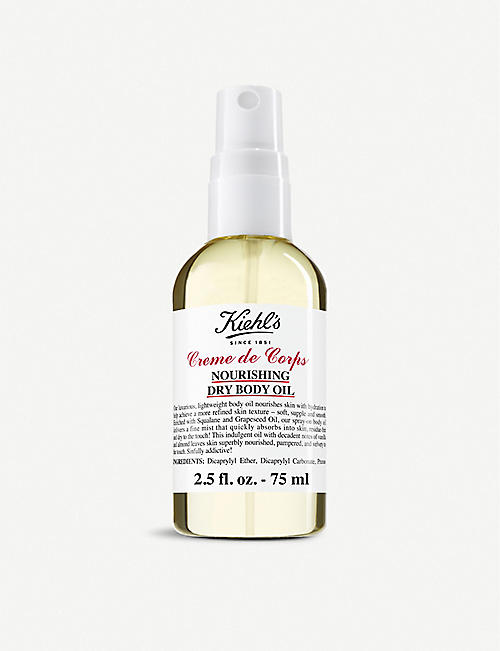 KIEHL'S Crème de Corps Nourishing Dry Body Oil 75ml