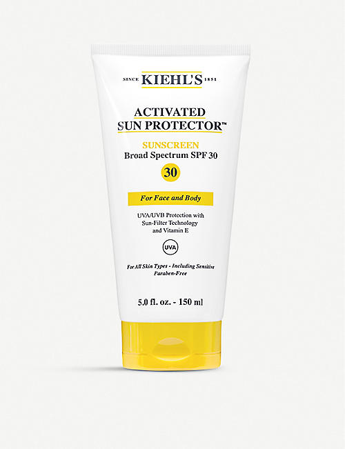 KIEHL'S: Activated Sun Protector™ Water-Light Lotion For Face & Body 150ml