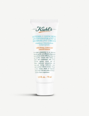 KIEHL'S Superbly Efficient anti-perspirant and deodorant cream 75ml