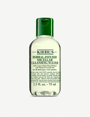 KIEHL'S Herbal-infused micellar cleansing water 75ml