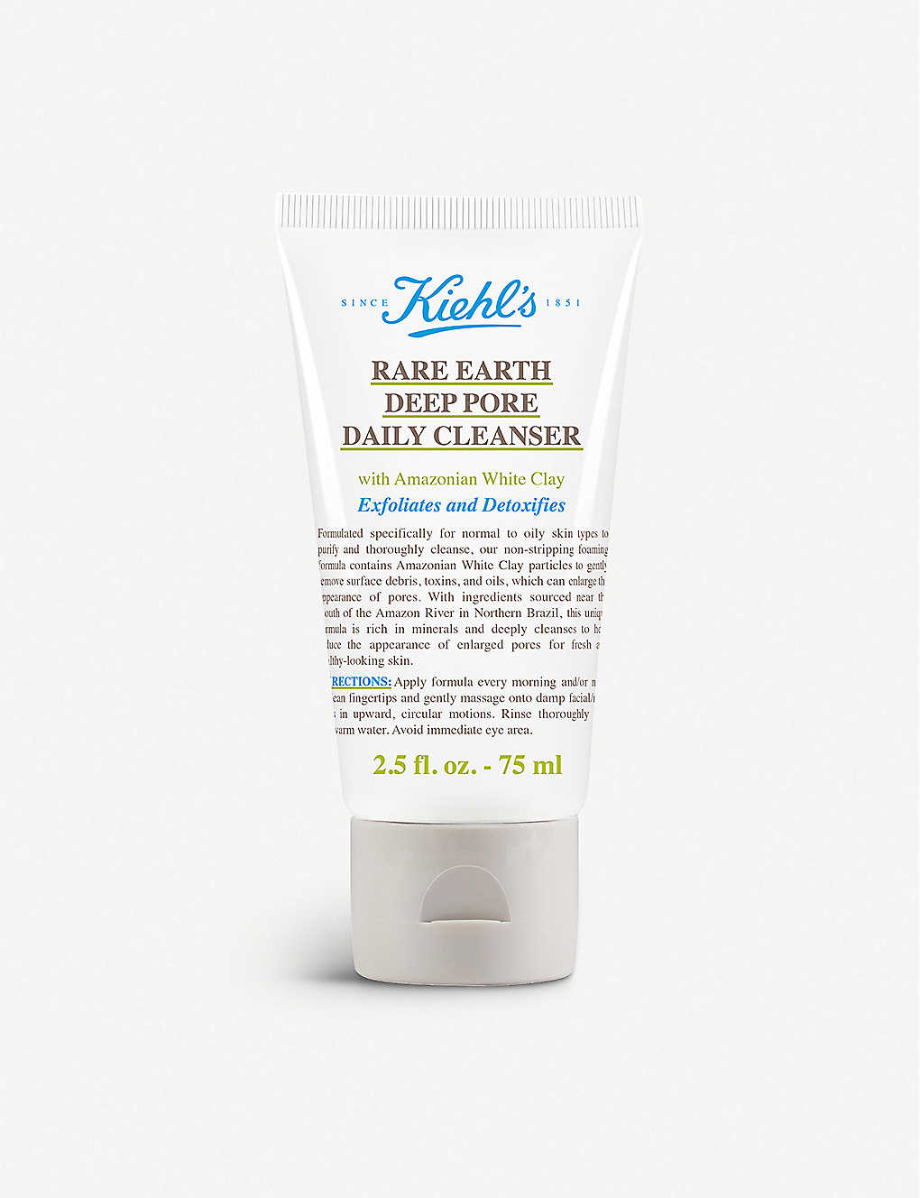 KIEHL'S: Rare Earth Deep Pore Daily Cleanser 75ml