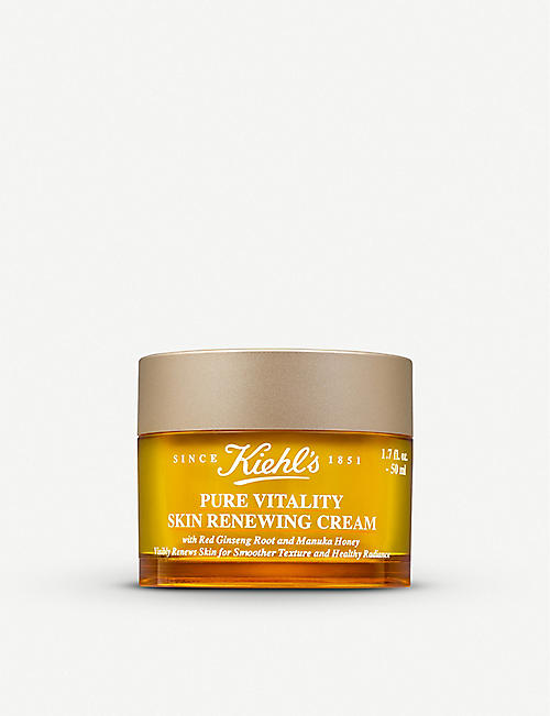 KIEHL'S: Pure Vitality Skin Renewing Cream 50ml