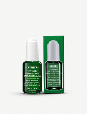 KIEHL'S Cannabis Sativa Seed Oil Herbal Concentrate 30ml