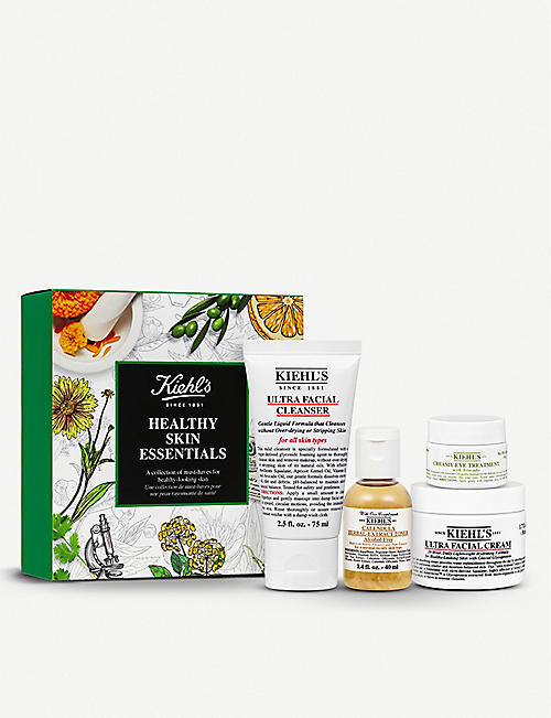 KIEHL'S Healthy Skin Essentials gift set