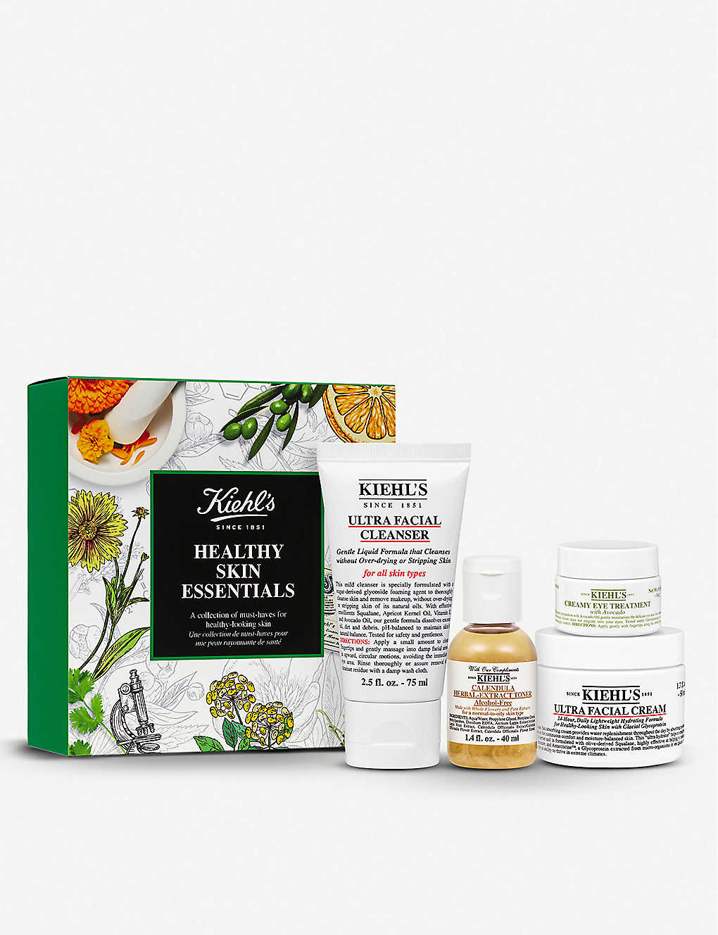 KIEHL'S: Healthy Skin Essentials gift set