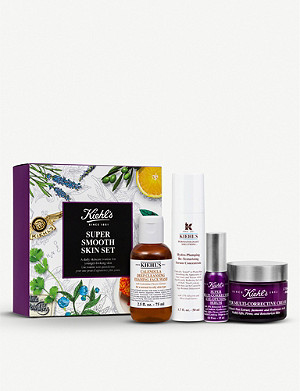 KIEHL'S Super Smooth Skin gift set