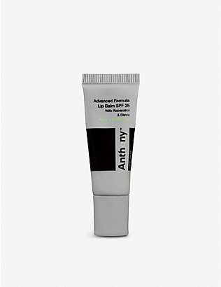 ANTHONY: Mint and white tea lip balm SPF25