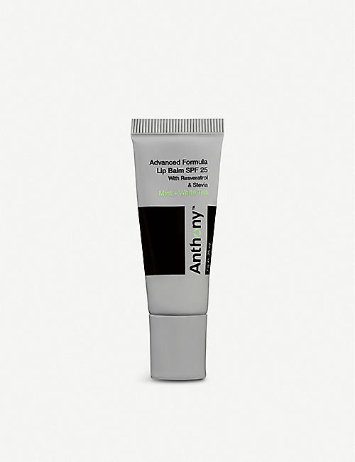 ANTHONY Mint and white tea lip balm SPF25