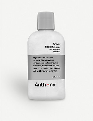ANTHONY: Glycolic Facial Cleanser 237ml