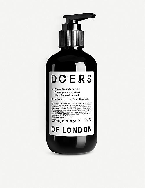 DOERS OF LONDON Facial Cleanser 200ml