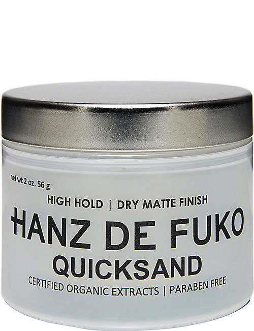 HANZ DE FUKO Quicksand hair clay 60ml