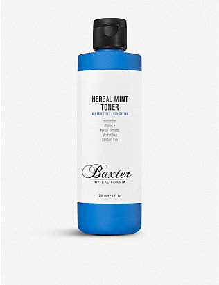 BAXTER OF CALIFORNIA: Herbal Mint Toner 240ml