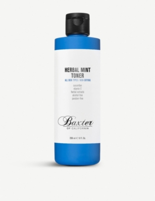 BAXTER OF CALIFORNIA Herbal Mint Toner 240ml