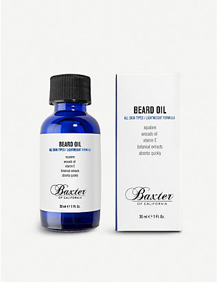 BAXTER OF CALIFORNIA: Grooming beard oil 30ml