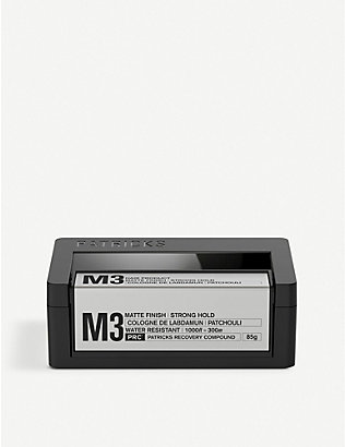 PATRICKS: M3 Strong Hold Styling Product 75g