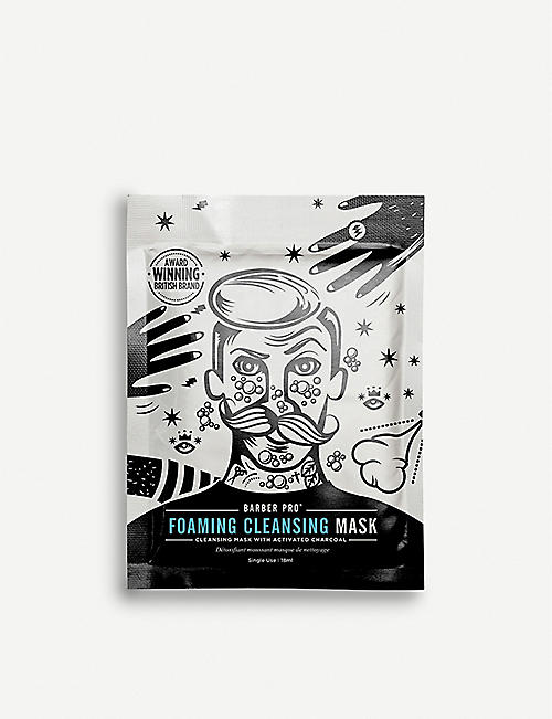 BARBER PRO Foaming Cleansing Mask Cleansing Mask 18ml