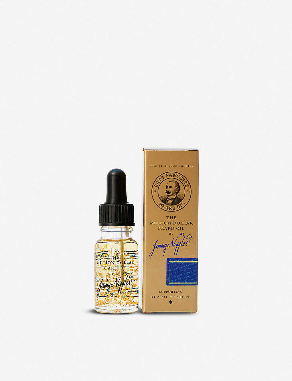 CAPTAIN FAWCETT: Jimmy Niggles beard oil 10ml