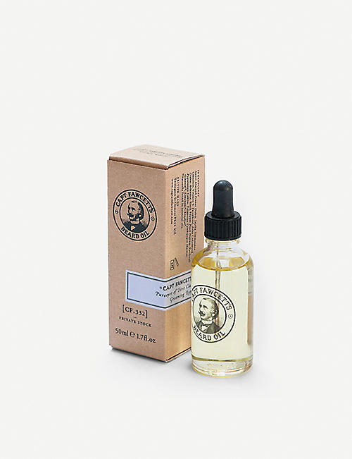 CAPTAIN FAWCETT Private Stock Beard Oil 50ml