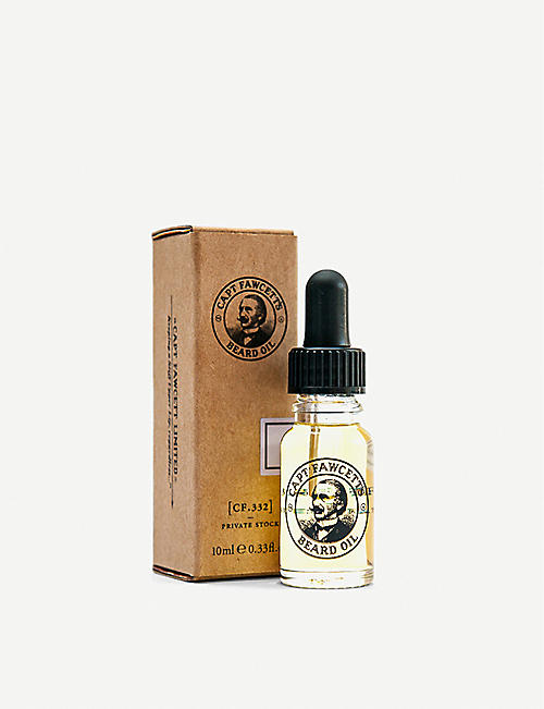CAPTAIN FAWCETT: Private Stock Beard Oil 10ml