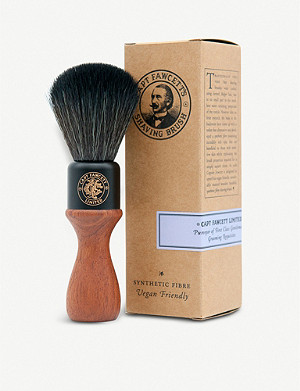 CAPTAIN FAWCETT Wooden faux fur shaving brush