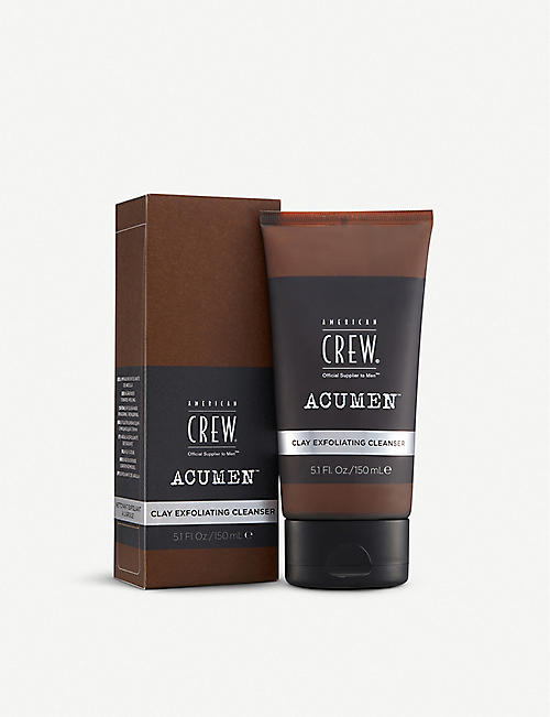 AMERICAN CREW ACUMEN Acumen Clay Exfoliating cleanser 150ml